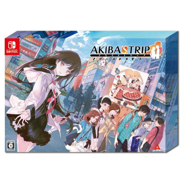 【楽天ブックス限定特典+特典】AKIBA'S TRIP ファーストメモリー 初回限定版 10th Anniversary Edition Switch版(マイクロファイバークロス+【初回購入特典】外付けクリアシール)画像