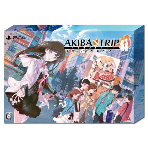 【楽天ブックス限定特典+特典】AKIBA'S TRIP ファーストメモリー 初回限定版 10th Anniversary Edition PS4版(マイクロファイバークロス+【初回購入特典】外付けクリアシール)画像