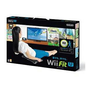 【楽天ブックスならいつでも送料無料】Wii Fit U バランスWiiボード(クロ) + フィットメータ...