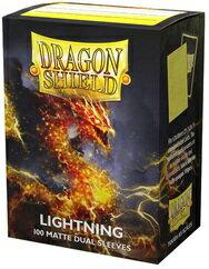 AT-15047 ドラゴンシールド マット スタンダードサイズ デュアルマット ライトニング(Lightning)(100枚入)