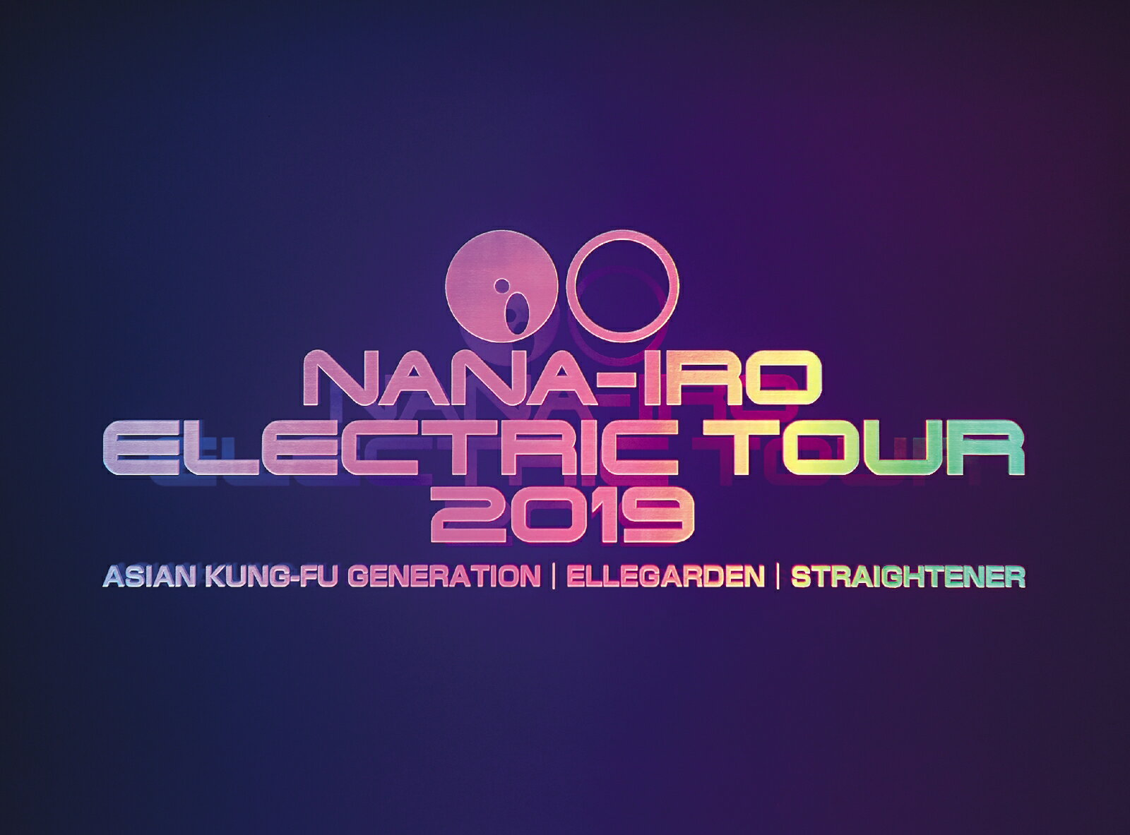 NANA-IRO ELECTRIC TOUR 2019 (初回生産限定盤 Blu-ray + PHOTO BOOOK)【Blu-ray】画像