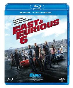 【送料無料】ワイルド・スピード EURO MISSION ブルーレイ+DVDセット(E-Copy) 【Blu-ray】 [...