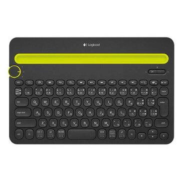 ロジクール Bluetoothマルチデバイスキーボード k480 ブラック