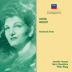 【輸入盤】『シェーナとアリア集〜ハイドン、モーツァルト』 ジェニファー・ヴィヴィアン、ハリー・ニューストーン&ハイドン管弦楽団 [ ハイドン(1732-1809) ]