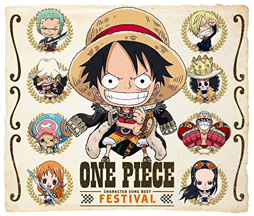 """ONE PIECE キャラソンBEST """"FESTIVAL""""画像"""