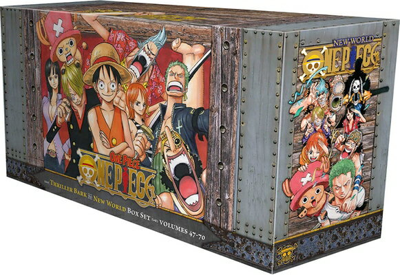One Piece Box Set 3, Volume 3: Thriller Bark to New World, Volumes 47-70画像