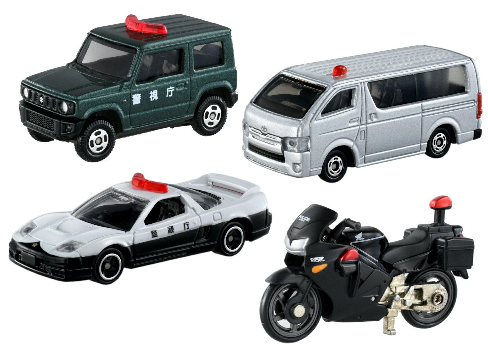 事件を解決!警察車両コレクション
