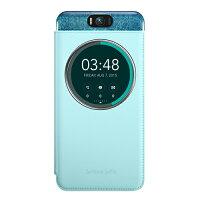 ZenFone2 セルフィ (ZD551KL)専用 MyView Cover アクアブルー