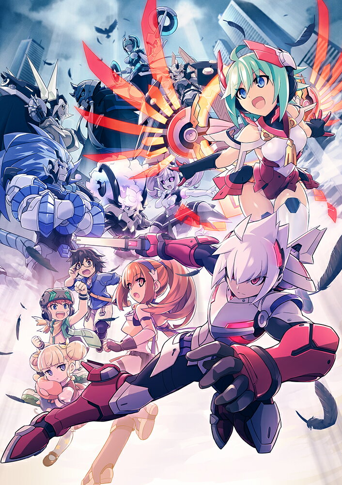 白き鋼鉄のX THE OUT OF GUNVOLT PS4版