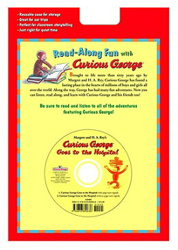 Curious George Goes to the Hospital Book & CD [With CD] CURIOUS GEORGE GOES TO THE HOS (Curious George) [ H. A. Rey ]