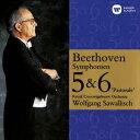 ベートーヴェン:交響曲 第4番 第5番「運命」 第6番「田園」&第7番 [ ヴォルフガング・サヴァリ