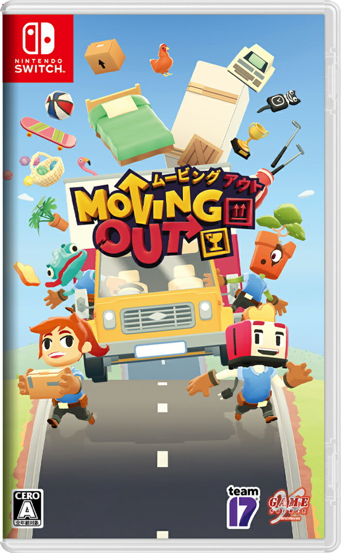 Moving Out Nintendo Switch版