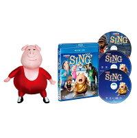 SING/シング ブルーレイ+DVD+ボーナスCDセット(3枚組) ぬいぐるみ付きスペシャルパック(数量限定生産)【Blu-ray】