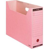 コクヨ ファイルボックス 色厚板紙 フタ付 B4 ピンク B4-LFBN-P