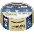 Panasonic 録画用2倍速ブルーレイディスク片面2層50GB(追記型) スピンドル30枚 LM-BRS50P30