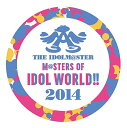 "THE IDOLM@STER M@STERS OF IDOL WORLD!! 2014 ""PERFECT BOX!""【完全生産限定盤】【Blu-ray】"