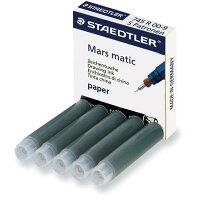 ステッドラー 製図ペン マルスマチック 補充インク カートリッジ 黒 745 R 00-9