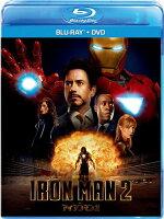 アイアンマン2 ブルーレイ+DVDセット 【Blu-ray】