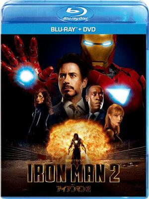 【楽天ブックスならいつでも送料無料】アイアンマン2 ブルーレイ+DVDセット 【Blu-ray】 [ ロバ...