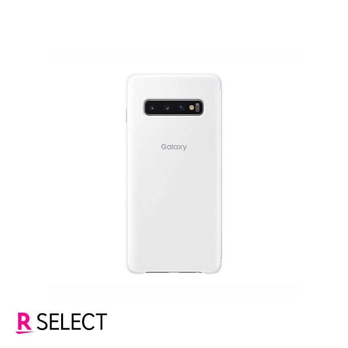 Galaxy純正 Galaxy S10 Clear View Cover ホワイト