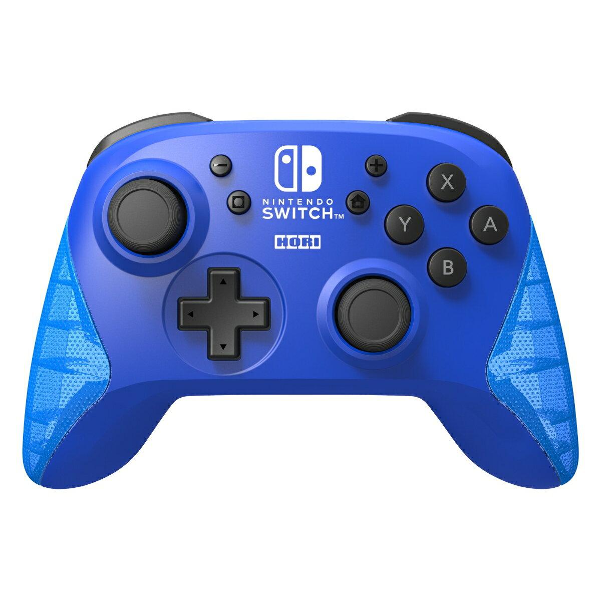 ワイヤレスホリパッド for Nintendo Switch ブルー