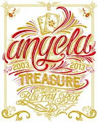 【楽天ブックスならいつでも送料無料】angela TREASURE Blu-ray BOX(仮)【Blu-ray】 [ angela ]