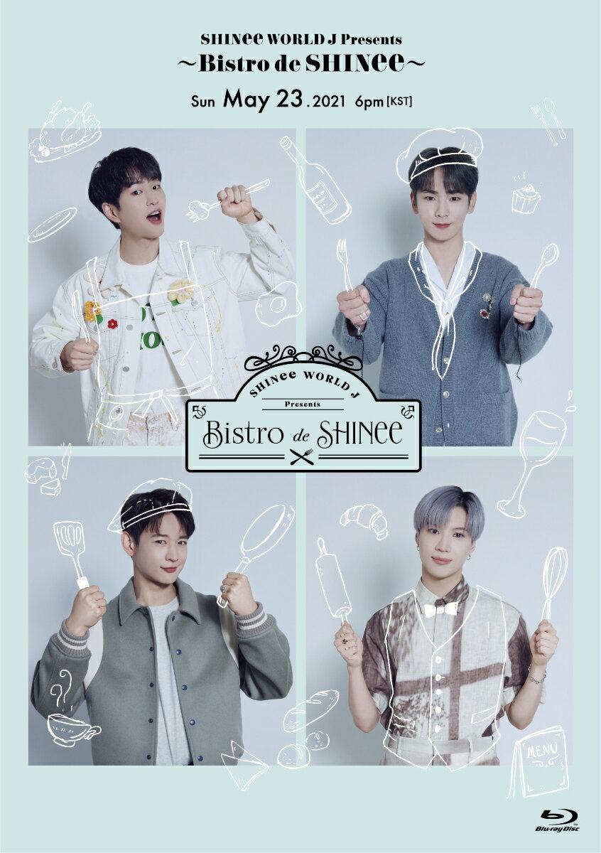 ミュージック, その他 SHINee WORLD J Presents Bistro de SHINee( Blu-rayPHOTOBOOKLET(16P))Blu -ray SHINee