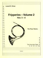 【輸入楽譜】ショー, Lowell E.: 四重奏のためのフリッパリーズ 第2巻: 第5番ー第8番