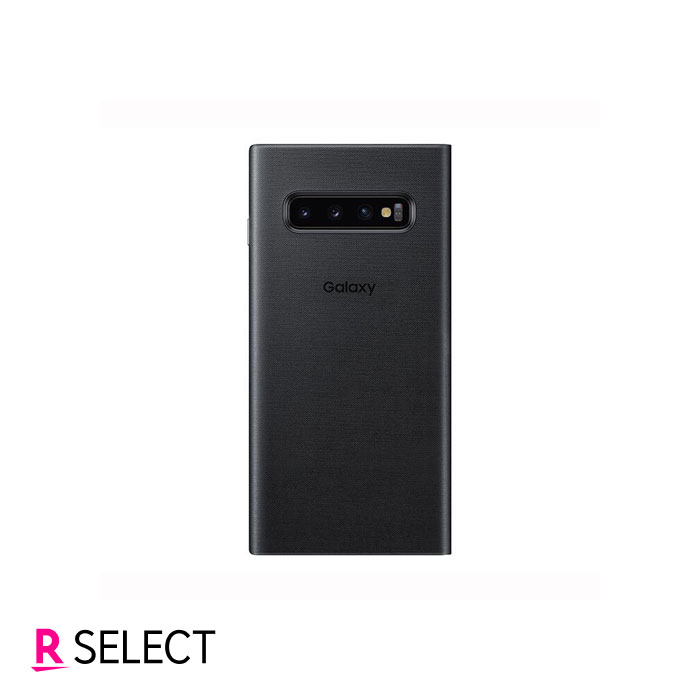 Galaxy純正 Galaxy S10 LED View Cover ブラック