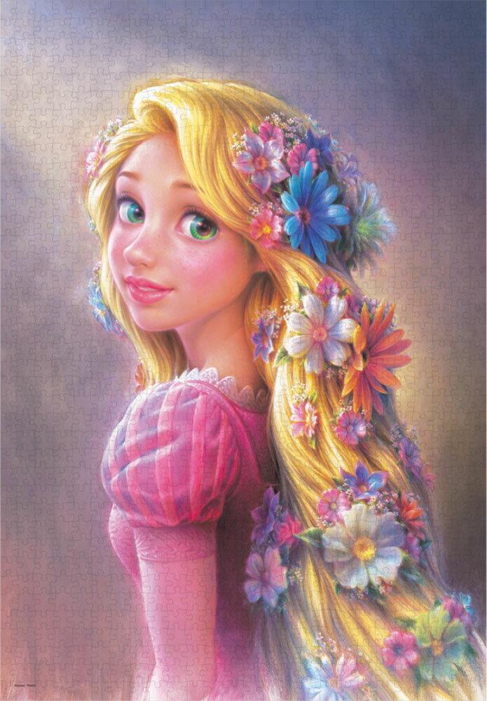 輝く髪のプリンセス(ラプンツェル) 1000ピース