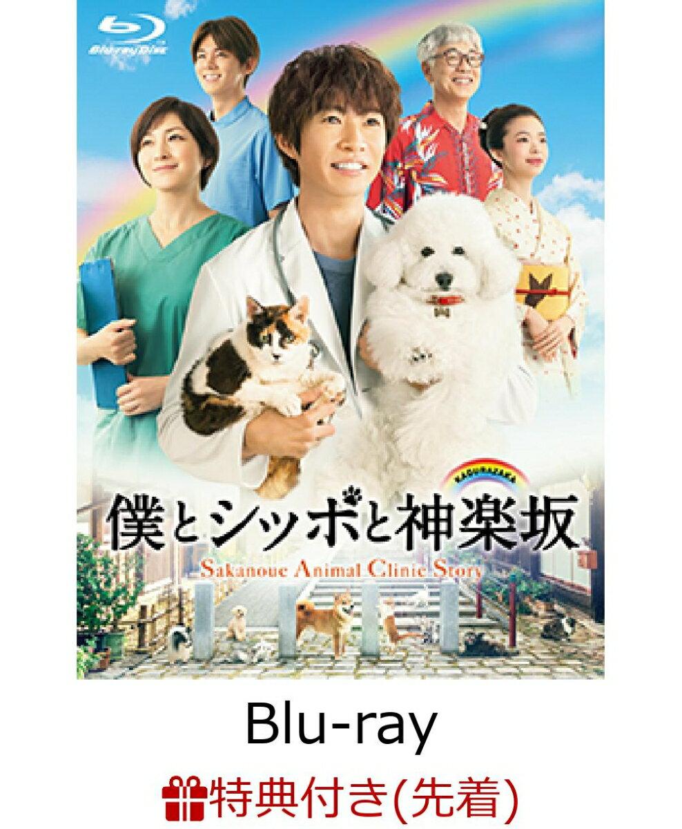 【先着特典】僕とシッポと神楽坂 Blu-ray-BOX(特製B5クリアファイル2枚セット付き)【Blu-ray】