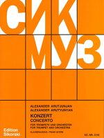 【輸入楽譜】アルチュニャン, Aleksandr Grigor'evich: トランペット協奏曲