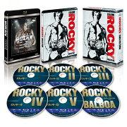 ロッキー コレクション スチールブック付きブルーレイBOX(6枚組)(数量限定生産)【Blu-ray】