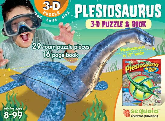 Plesiosaurus: 3D Puzzle and Book画像