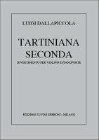 【輸入楽譜】ダッラピッコラ, Luigi: タルティニアーナ 第2番