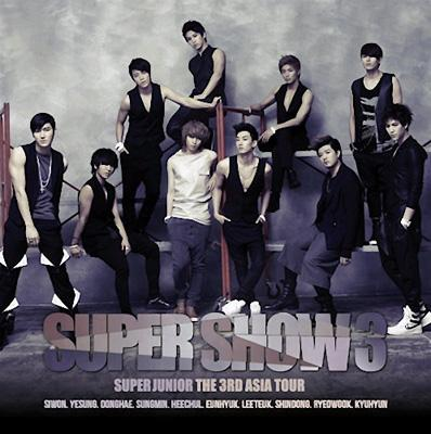 【輸入盤】 The 3rd Asia Tour Concert Album: SUPER SHOW3画像