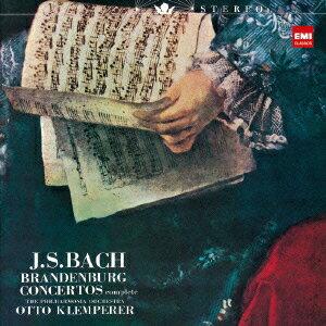 【送料無料】J.S.バッハ:ブランデンブルク協奏曲(全曲) [ オットー・クレンペラー ]