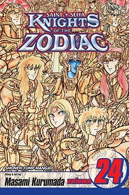 洋書, FAMILY LIFE & COMICS Knights of the Zodiac (Saint Seiya), Vol. 24 With Bonus Sticker KNIGHTS OF THE ZODIAC V24 Knights of the Zodiac Saint Seiya Masami Kurumada