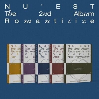 CD, 韓国(K-POP)・アジア 2nd Album: Romanticize () NUEST