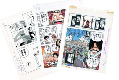 ONE PIECE 第1話複製原稿BOX ROMANCE DAWN -冒険の夜明け- 【シリアルナンバー付き】