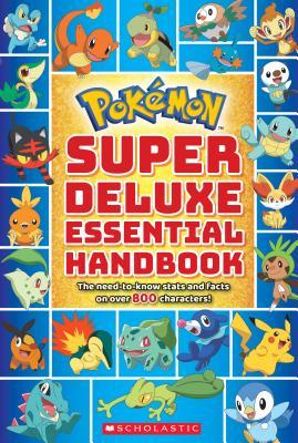 洋書, BOOKS FOR KIDS POKEMON SUPER DELUXE ESSENTIAL HANDBOOK .