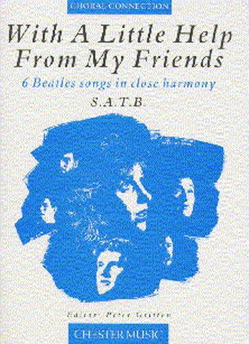 【輸入楽譜】WITH A LITTLE HELP FROM MY FRIENDS, 6 BEATLES SONG画像