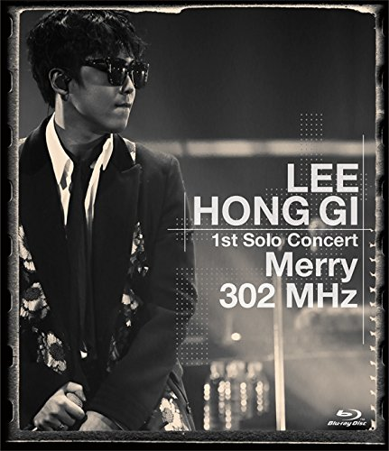 """LEE HONG GI 1st Solo Concert """"Merry 302 MHz""""【Blu-ray】画像"""