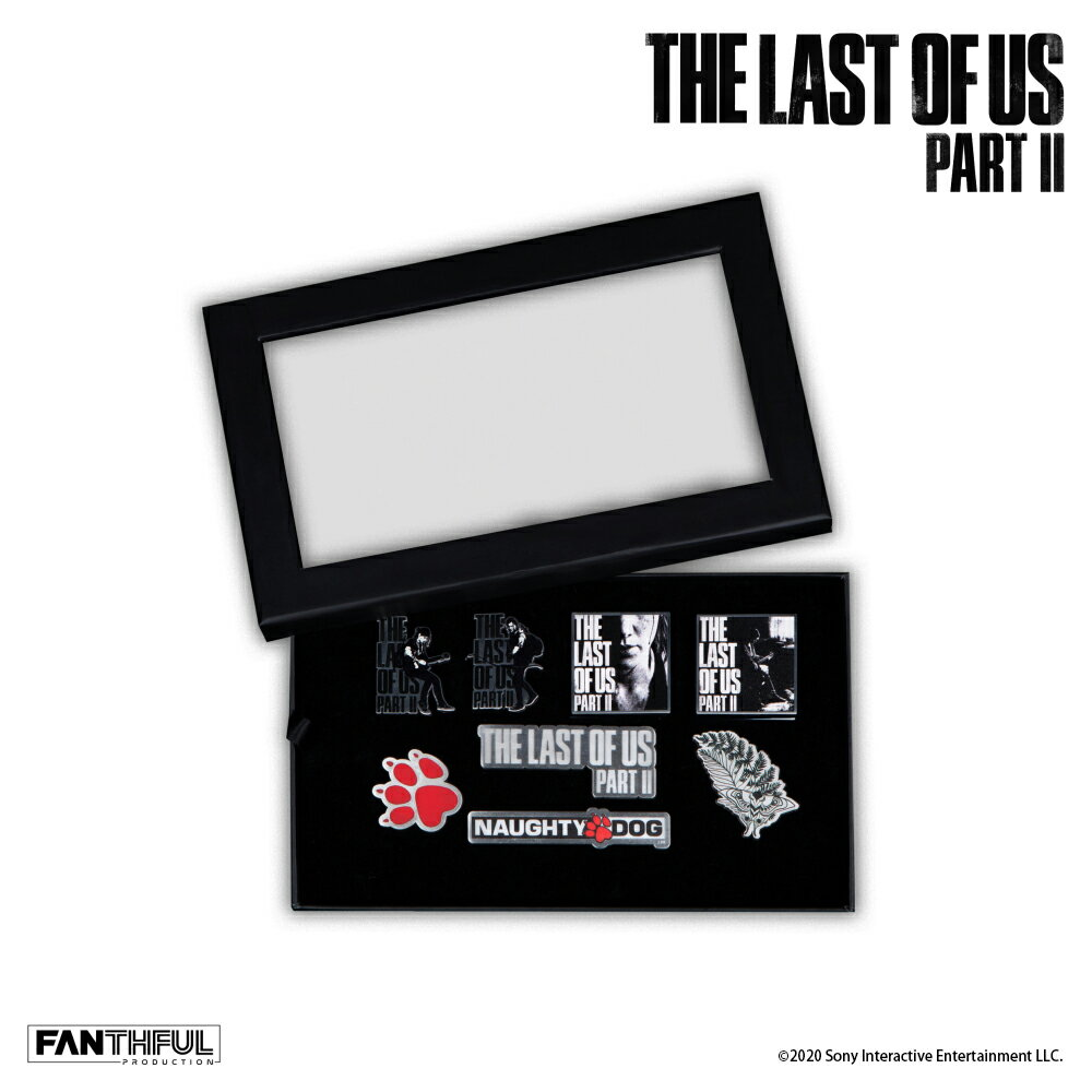 The Last of Us Part II バッジセット画像