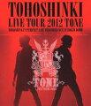 東方神起 LIVE TOUR 2012〜TONE〜 【Blu-ray】【特典ミニポスター無し】