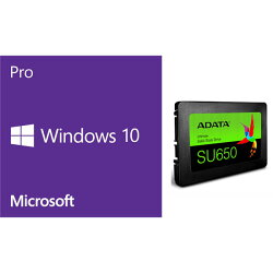 DSP Windows 10 pro 64Bit J + 2.5インチSSD240GB