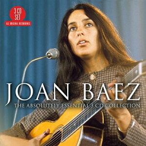 【輸入盤】Absolutely Essential 3 Cd Collection [ Joan Baez (ジョーン・バエズ) ]