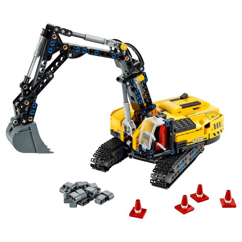レゴテクニック ヘビーデューティ掘削機 42121