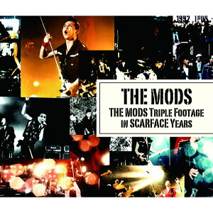 THE MODS TRIPLE FOOTAGE IN SCARFACE YEARS [ THE MODS ]