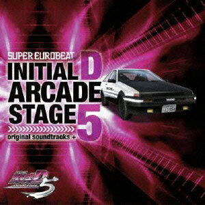 SUPER EUROBEAT presents 頭文字[イニシャル]D ARCADE STAGE 5 original soundtracks +画像